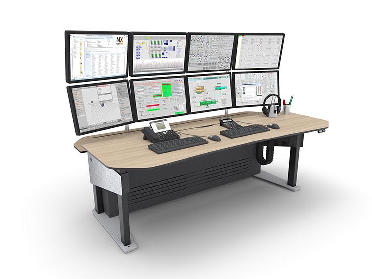 Console opérateur ergonomique